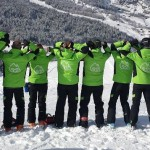Nos moniteurs de Ski !