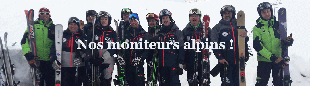 moniteurs alpins